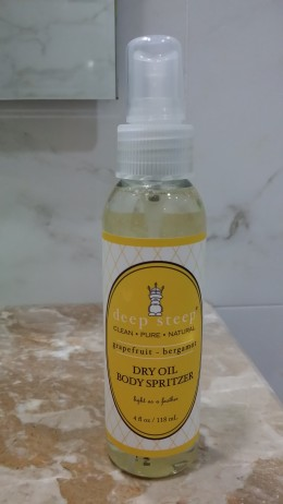 This may be the right after shower skin quencher!